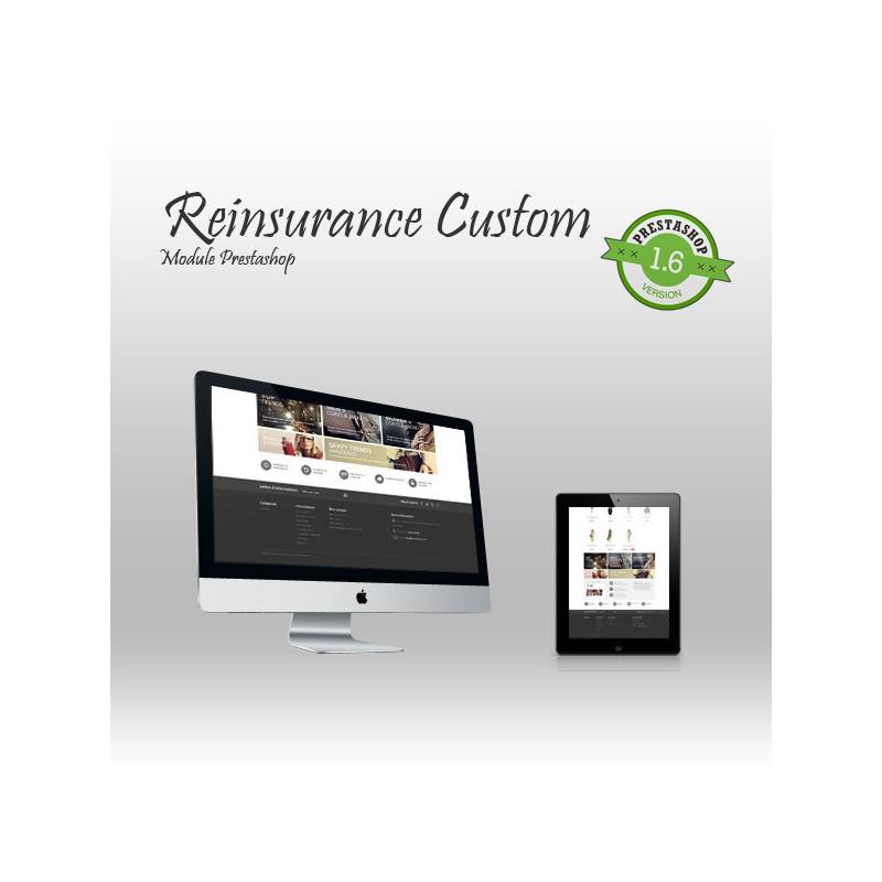 Reinsurance Custom Prestashop Module