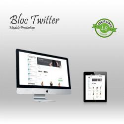 Twitter Block Prestashop Module