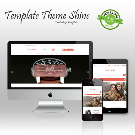 Shine Prestashop template