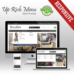 Rich Menu Prestashop Module