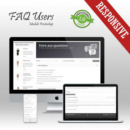Module Prestashop FAQ Users