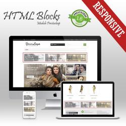 HTML Blocks Prestashop Module