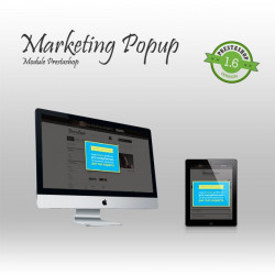 Marketing Popup Prestashop module