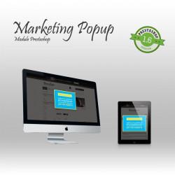 Marketing Popup Prestashop module
