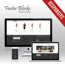 Footer Blocks Prestashop Module
