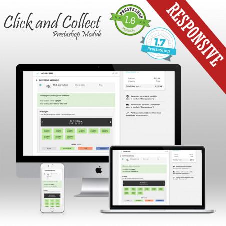 Click and Collect Prestashop Module