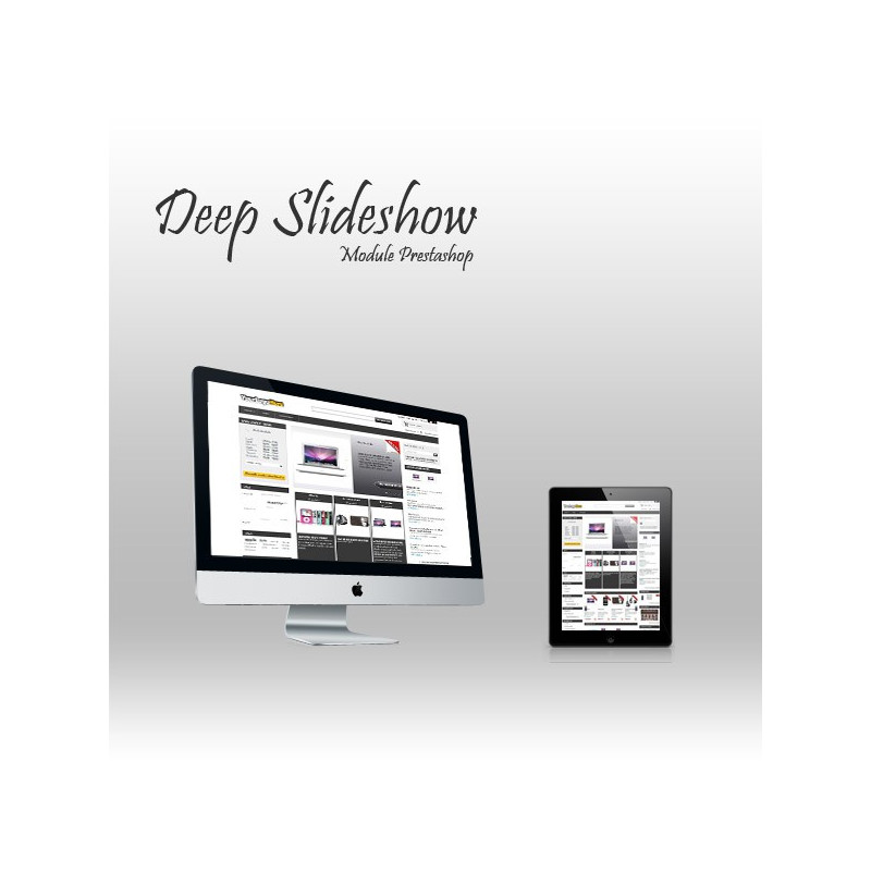 Module Prestashop Slideshow