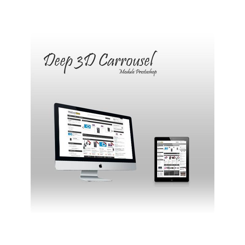 Module Prestashop 3D Carousel