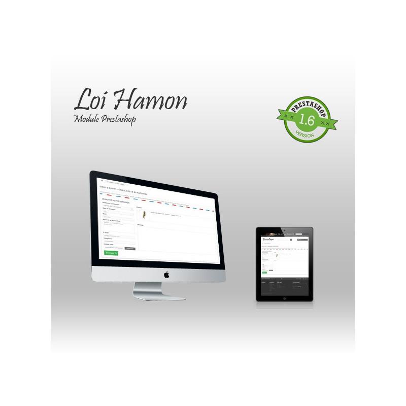 Module Prestashop Loi Hamon